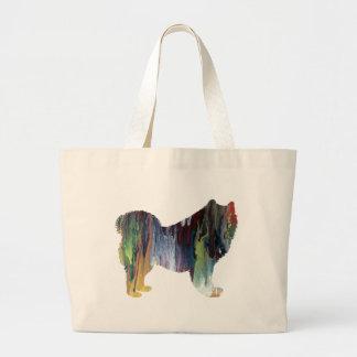 samoyed large tote bag