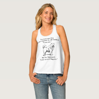 Samoyed Love Request Tank Top