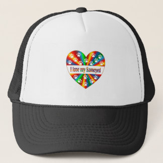 Samoyed Love Trucker Hat