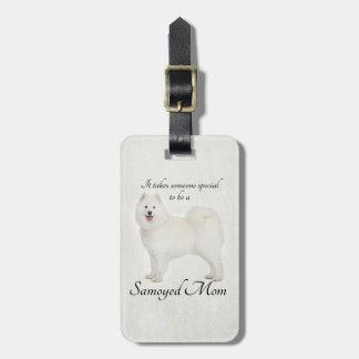 Samoyed Mom Luggage Tag