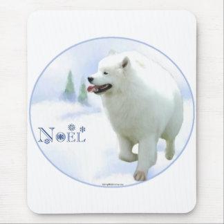 Samoyed Noel Mouse Pad