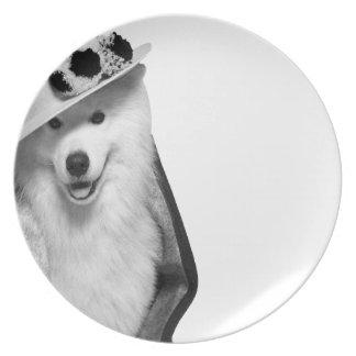 Samoyed Punt Plate
