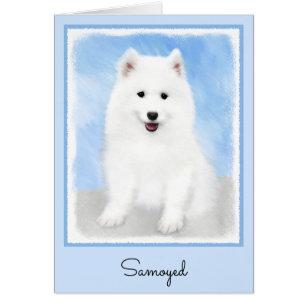 bbd4cd9c5 Samoyed Puppy Painting - Cute Original Dog Art