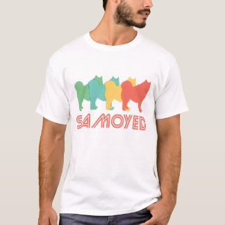 Samoyed Retro Pop Art T-Shirt