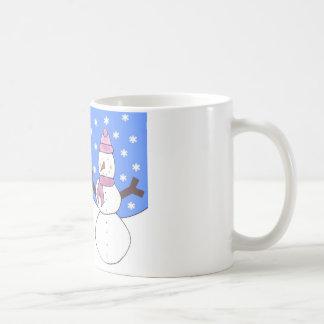 Samoyed Snowy Day Mug