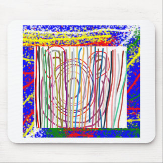 SAMPADA Kids Abstract : LINE ART Spectrum Mouse Pad