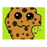 Sample Chocolate chip cookie postcard #2