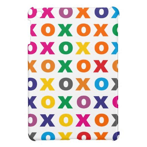 Sample XOXO pattern hugs kisses Case For The iPad Mini