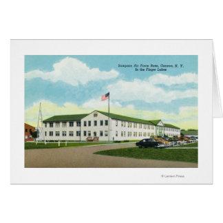 Sampson Air Force Base Building Greeting Card