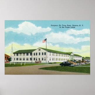 Sampson Air Force Base Building Print