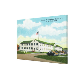 Sampson Air Force Base Building Stretched Canvas Prints