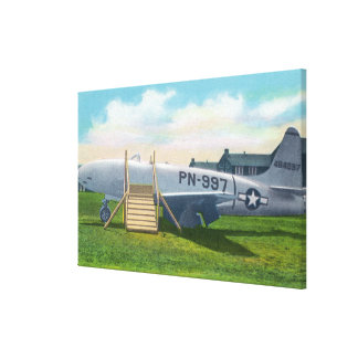 Sampson Air Force Base Stretched Canvas Print