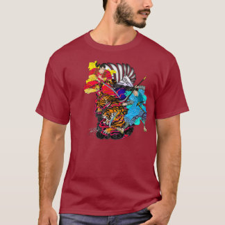 Samrai vs Tiger T-Shirt