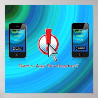 Sam's App Development Poster