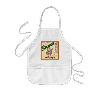 Sam's Child's BBQ Apron (Piglet)