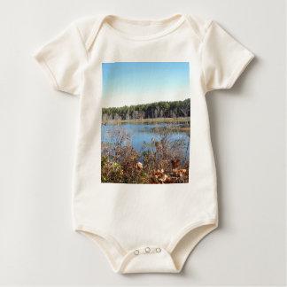 Sams Lake Bird Sanctuary Baby Bodysuit