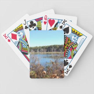 Sams Lake Bird Sanctuary Bicycle Playing Cards
