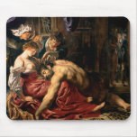 Samson and Delilah, c.1609 Mouse Pads