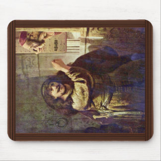 Samson Threatened His Father - By Rembrandt Harmen Mouse Pad