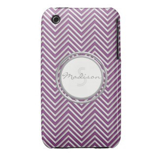 Samsung 3 - Chevron Pattern Modern Stripe Zig Zag iPhone 3 Case