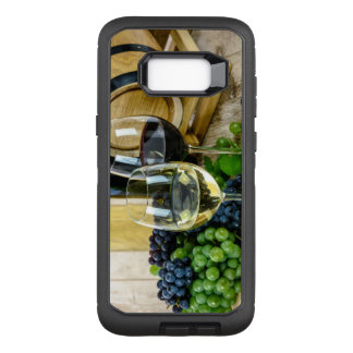 Samsung Galaxy 8 Phone Case Wine Glasses Grapes
