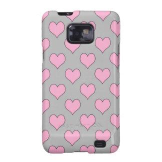 Samsung Galaxy S2 heart pattern case Samsung Galaxy SII Case