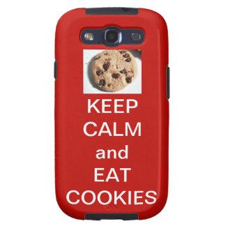 Samsung Galaxy S3 Cookie Phone Case (Red) Samsung Galaxy S3 Case