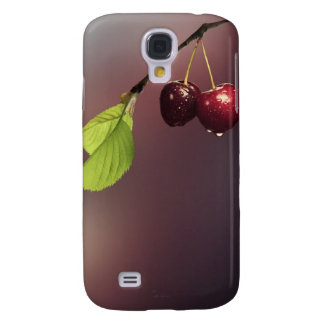 Samsung Galaxy S4, Barely There Phone Case Cherry