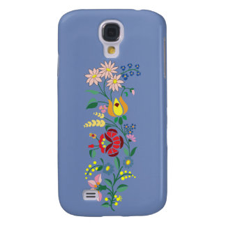 Samsung Galaxy S4- Flower Embroidery Galaxy S4 Cases