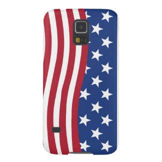 Samsung Galaxy S5 America flag print on phone case