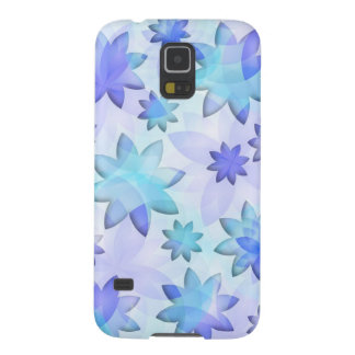 Samsung Galaxy S5 Case abstract lotus flowers
