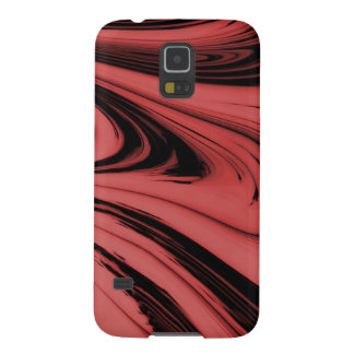 Samsung Galaxy S5 Case - abstract red / black