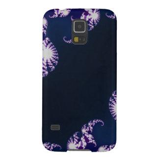 Samsung Galaxy S5 Case - fractal blue purple black