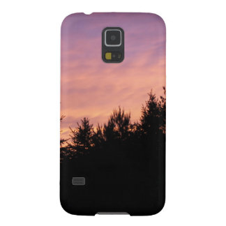 Samsung Galaxy S5 Case - sunset over shadowy pines