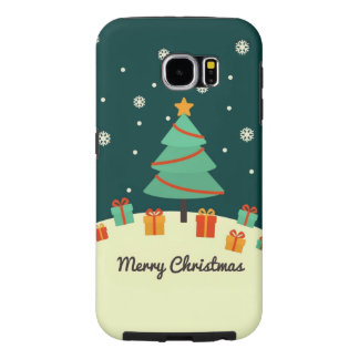 Samsung Galaxy S6 Christmas Tree Case