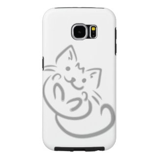Samsung Galaxy S6 kitty cell phone sleeve Samsung Galaxy S6 Cases