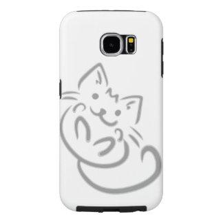 Samsung Galaxy S6 kitty cell phone sleeve Samsung Galaxy S6 Cases
