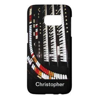 Samsung Galaxy S7 Case Antique Organ Keyboard
