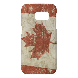 Samsung Galaxy S7 case with flag of Canada