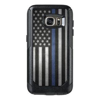 Samsung Galaxy S7 Thin Blue Line Cell Phone Case