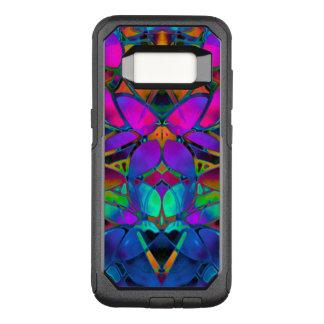 Samsung Galaxy S8 Case Floral Fractal Art