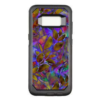 Samsung Galaxy S8 Case Floral Stained Glass