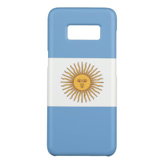 Samsung Galaxy S8 Case with Argentina Flag