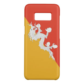 Samsung Galaxy S8 Case with flag of Bhutan