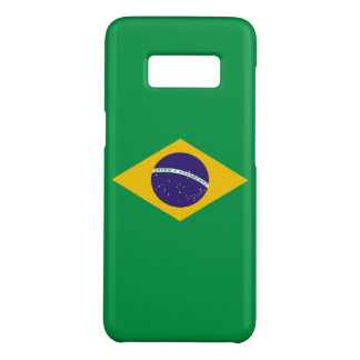 Samsung Galaxy S8 Case with flag of Brazil