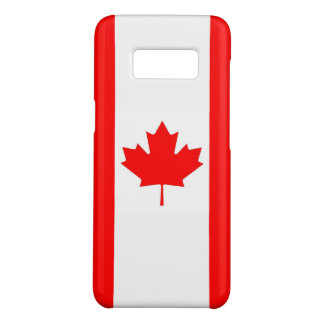 Samsung Galaxy S8 Case with flag of Canada