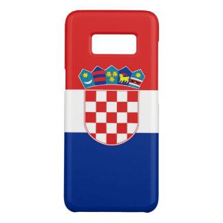 Samsung Galaxy S8 Case with flag of Croatia