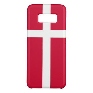 Samsung Galaxy S8 Case with flag of Denmark