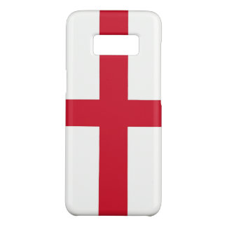 Samsung Galaxy S8 Case with flag of England