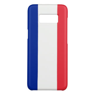 Samsung Galaxy S8 Case with flag of France